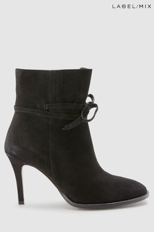Mix/Hudson Sheena Suede Heeled Boot