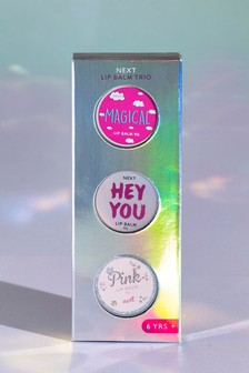 3 Pack Fragranced Lip Balms