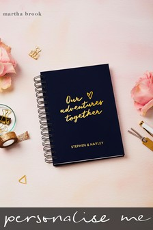 Personalised Our Adventues Memory Book by Martha Brook