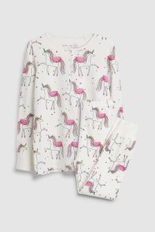 Unicorn Print Pyjamas (3-16yrs)