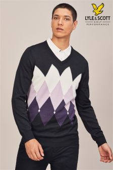 Lyle & Scott Golf Morham Jumper