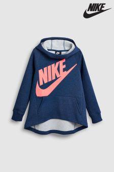 Nike Blue Pull Over Hoody