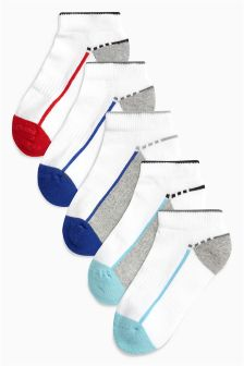 Trainer Socks Five Pack (Younger)