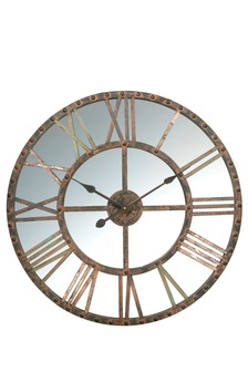 Parlane Mirrored Clock