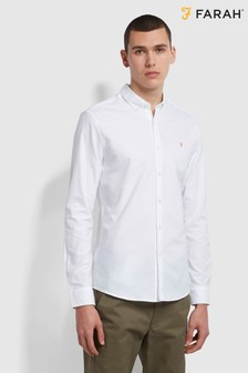 Farah White Brewer Shirt