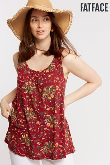 FatFace Red Pippa Alhambra Swing Cami