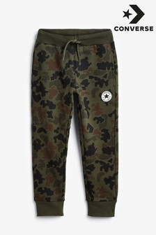 Converse Boys Signature Chuck Patch Camo Joggers