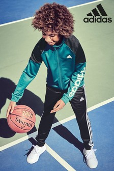 adidas Green Linear Tracksuit