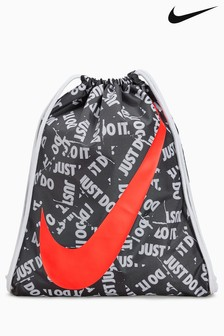 Nike Black Graphic Gym Sack
