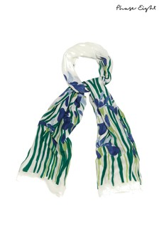 Phase Eight Multi Iris Floral Scarf