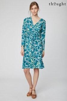 Thought Green Emmeline Dress