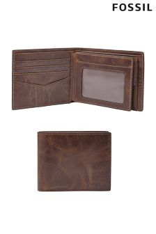 Fossil™ Derrick Leather Bifold Wallet
