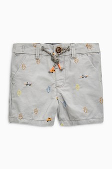 Embroidered Shorts (3mths-6yrs)