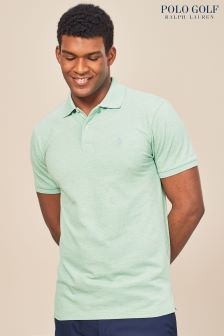 Рубашка поло мятно-зеленого цвета Ralph Lauren Polo Golf
