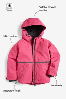 Hooded Waterproof Jacket (12mths-16yrs)