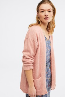 White Stuff Pink Cosy Cardigan