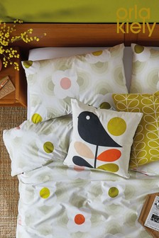 Set of 2 Orla Kiely Striped Petal Cotton Pillowcases