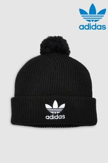 adidas Originals Black Pom Pom Beanie
