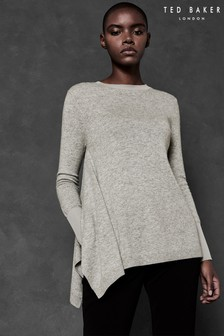 Ted Baker Ted Says Relax Grey Cashmere Knit