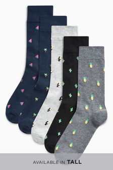 Conversational Socks Five Pack