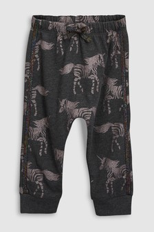 Pantalon de jogging à imprimé zèbre (3 mois - 6 ans)