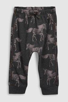 Zebra Print Joggers (3mths-6yrs)