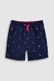 Embroidered Dinosaur Swim Shorts (3mths-16yrs)