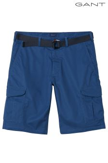 GANT Blue Relaxed Belted Utility Short