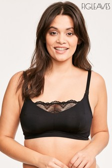 Figleaves Lace Non Wired Nursing Bra