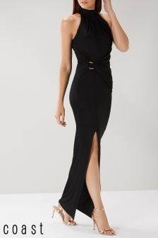 Coast Black Naomi Jersey Maxi Dress