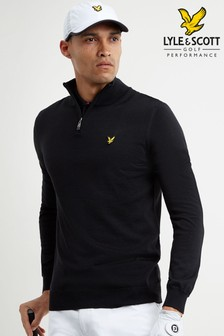 Lyle & Scott Golf V-Neck Merino Jumper