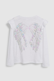 Embellished Wings Tee (3-16yrs)