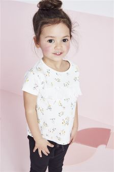 Ditsy Crew Top (3mths-6yrs)