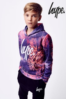 Hype. Purple Firework Hoody