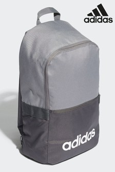 adidas Grey Linear Classic Backpack