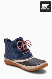 Sorel® Navy Collegiate Out 'N About Plus Ankle Boot