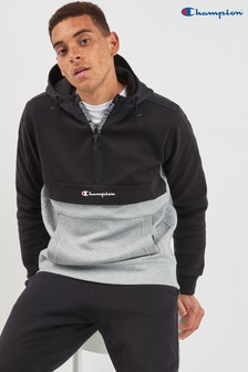 Champion Half Zip Panel Hoody