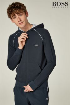 BOSS Logo Zip Through Hoody