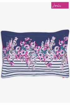 Joules Garden Border Stripe Pillowcases