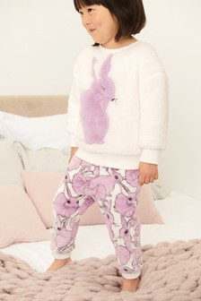 Bunny Fleece Lounge Set (9mths-8yrs)