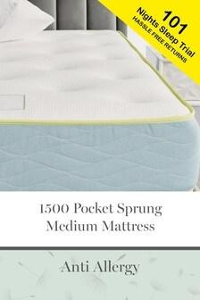 Anti Allergy 1500 Pocket Copper Medium Mattress