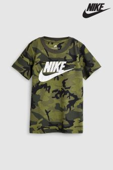 Nike Green Camo Knit Tee