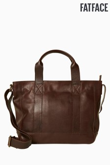 FatFace Brown Tasha Tote Cross Body Bag