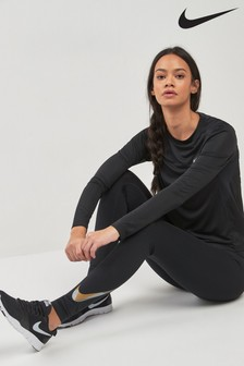 Nike Black Essential Flash Tight