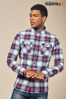 Superdry Red Lumberjack Check Shirt