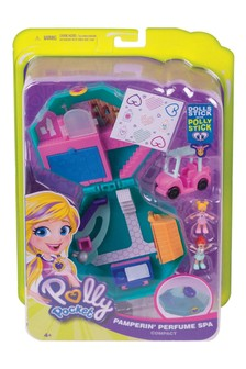 Polly Pocket Pocket World Pamperin' Perfume Spa Compact