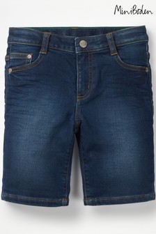 Boden Blue Denim Short
