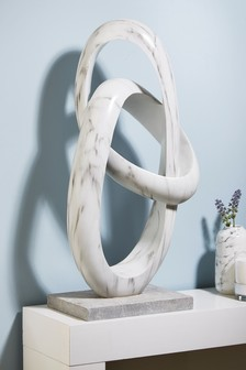 XL Marble Effect Sculpture