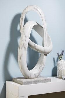 XL Marble Effect Sculpture