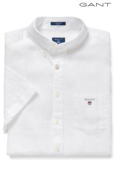 GANT White Short Sleeved Shirt